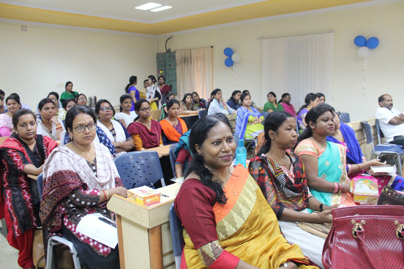 Women's day celebrated on 8th March, 2018